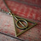 Collana ciondolo Harry Potter Doni della Morte_Uomo Donna_idea regalo