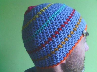 _cappello  uomo, donna  ragazzo in lana, fatto a mano all'uncinetto C080