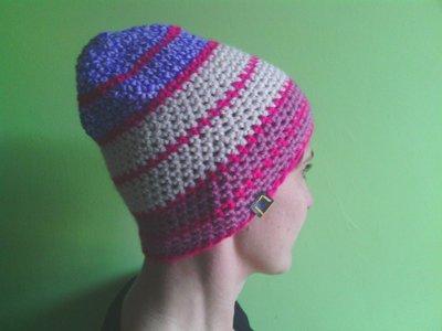 _cappello  uomo, donna  ragazza in lana, fatto a mano all'uncinetto C083