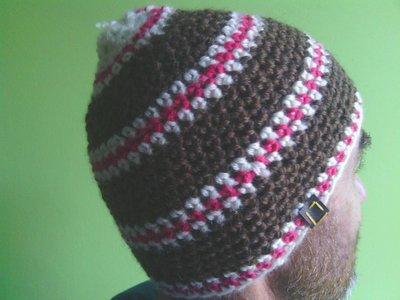 _cappello  uomo, donna  ragazza in lana, fatto a mano all'uncinetto C081