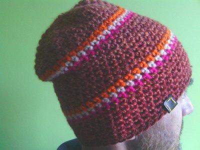 _cappello  uomo, donna  ragazza in lana, fatto a mano all'uncinetto C075