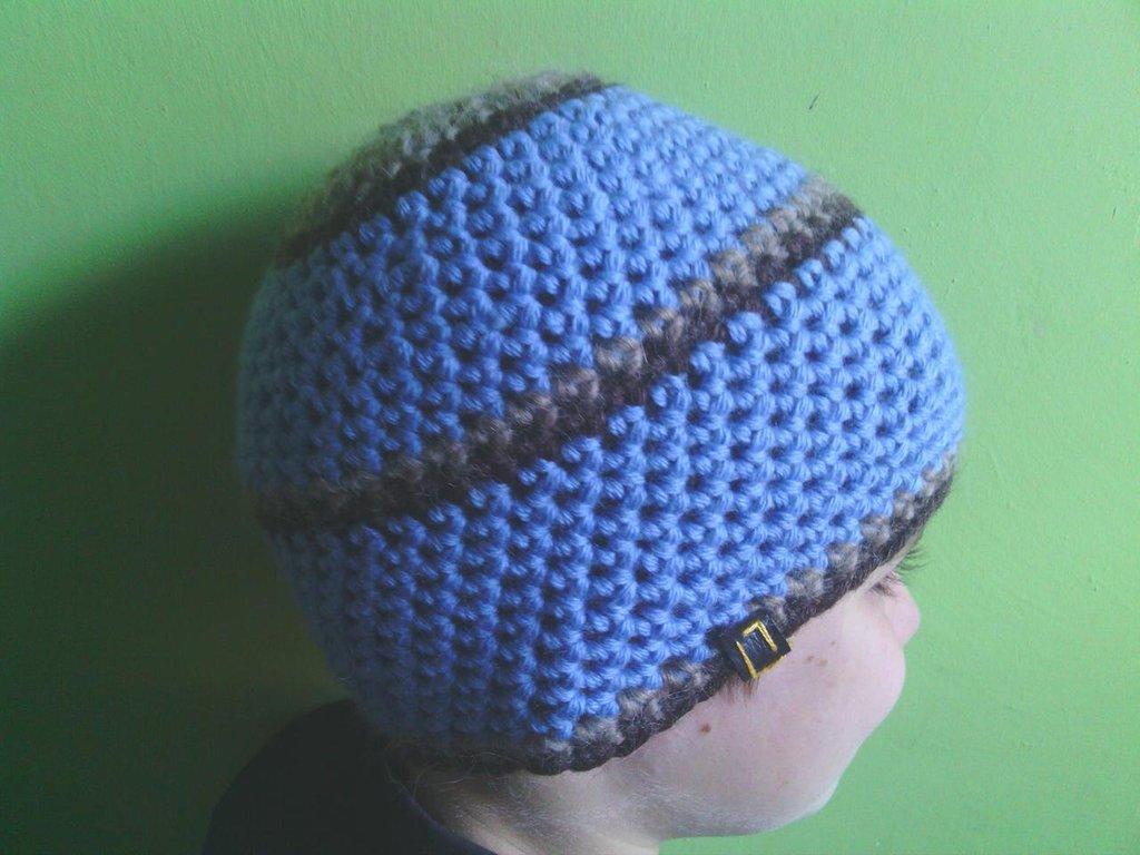 _cappello  uomo, donna  ragazza in lana, fatto a mano all'uncinetto C069