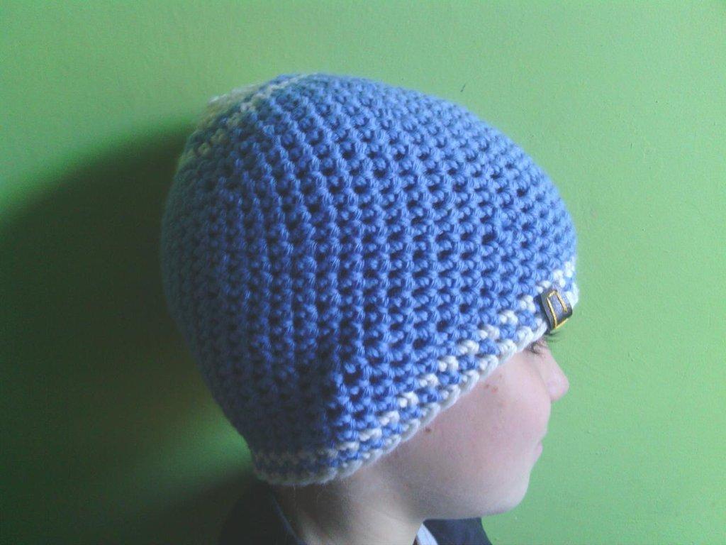 _cappello  uomo, donna  ragazza in lana, fatto a mano all'uncinetto C072