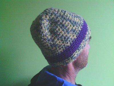 _cappello  uomo, donna  ragazza in lana, fatto a mano all'uncinetto C068