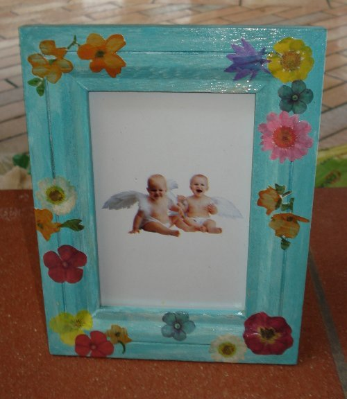 Porta foto in legno