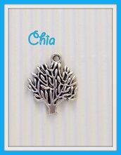 8 charms alberello ulivo 20x17mm