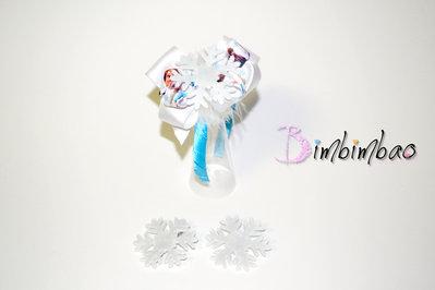 Cerchietto accessori bambina corona coroncina frontino ispirato a frozen anna elsa hair bow hair clips