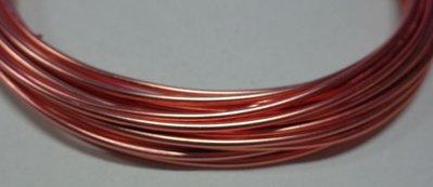 6 metri Filo Alluminio colore PESCA 1.5 mm.
