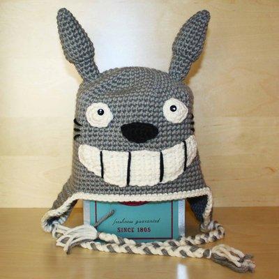 Berretto uncinetto amigurumi Totoro