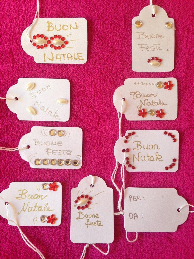 Christmas tags - Chiudipacco Natale decorati