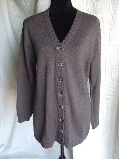 cardigan giacca maglia donna lana