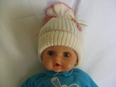 cappello bimba lana beretto