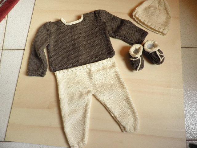 Completino per bambino/a in pura lana baby 100%
