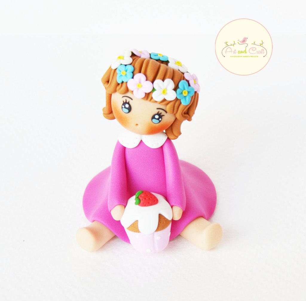 Bambolina di fimo