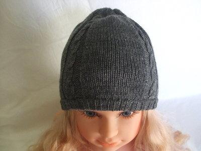 cappello beretto maglia lana bimbo
