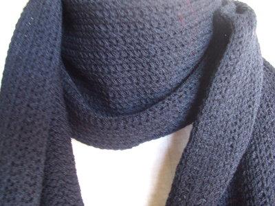 sciarpa uomo lana lunga