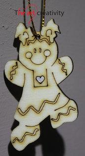 "Addobbo  ""Ginger  bread girl"""