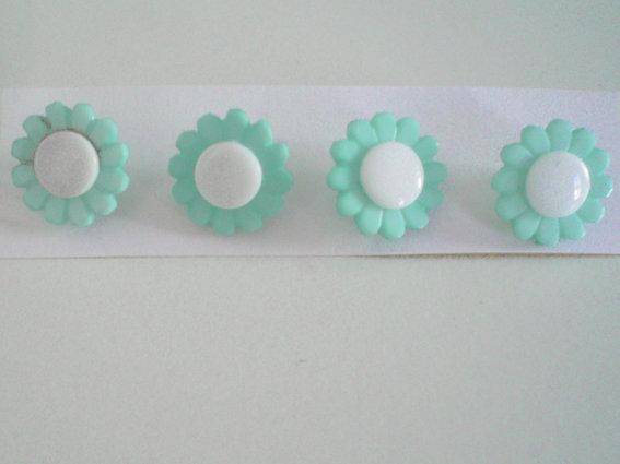 bottoni fiore 4 pz