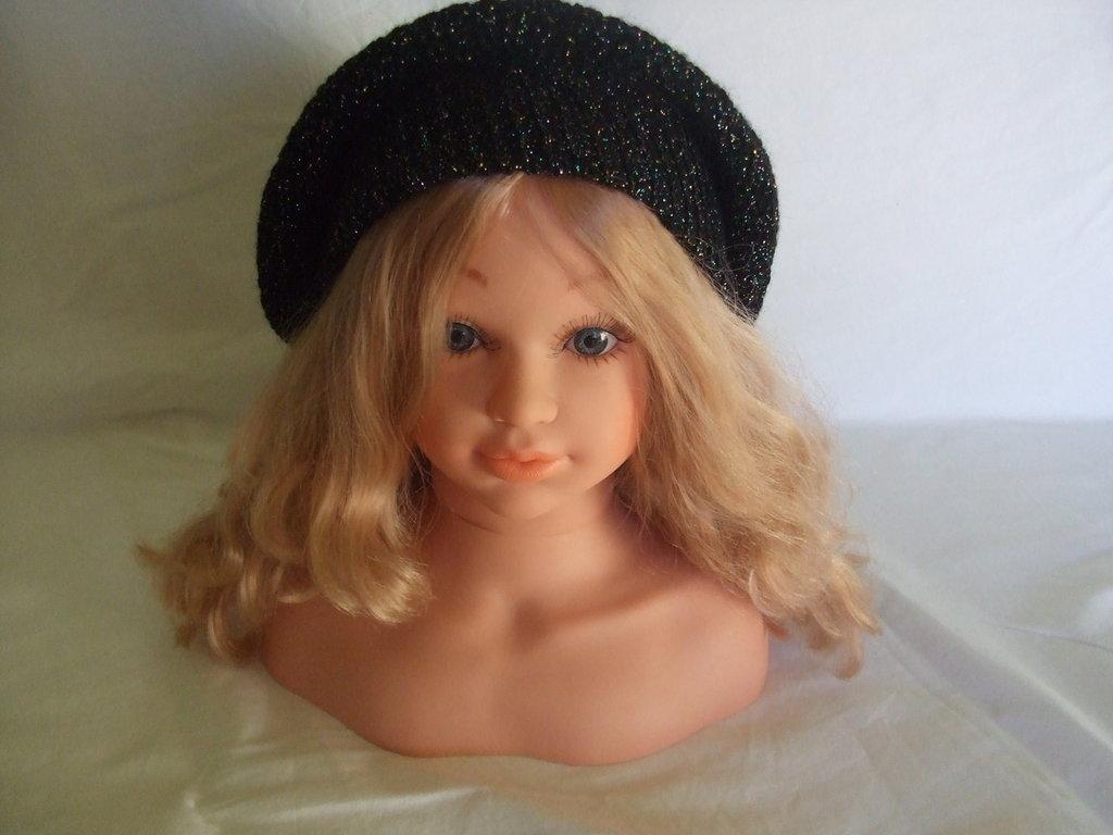 cappello donna grande maglia lana