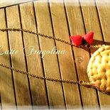Borsetta biscotto gelato - Gusto Fragola