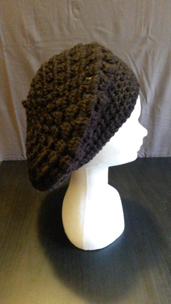 Basco in lana marrone