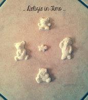 Gessi profumati in polvere di ceramica Orsetti e Nuvola