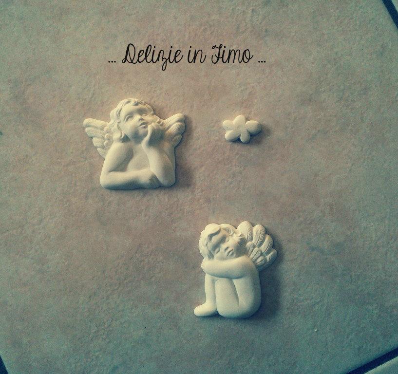 Gessi profumati in polvere di ceramica Angeli e Nuvola