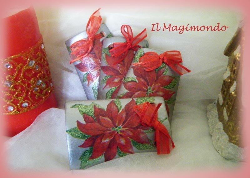 Tegoline natalizie segnaposto