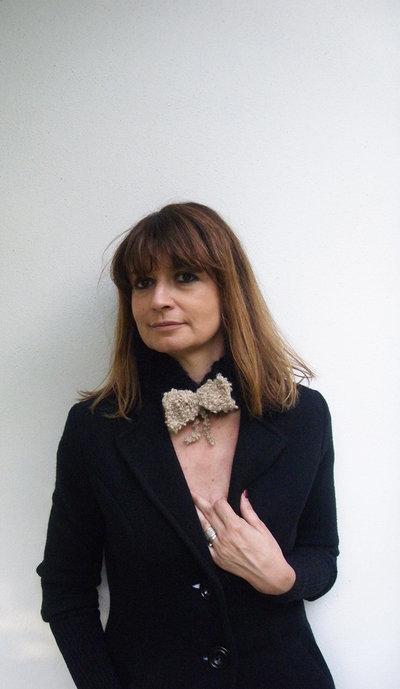 Boho fascia per capelli Accessori per donne eleganti in Bianco e nero
