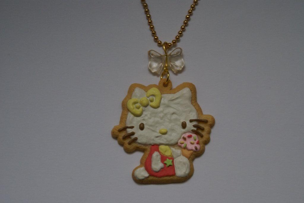 Collana hello kitty cookie