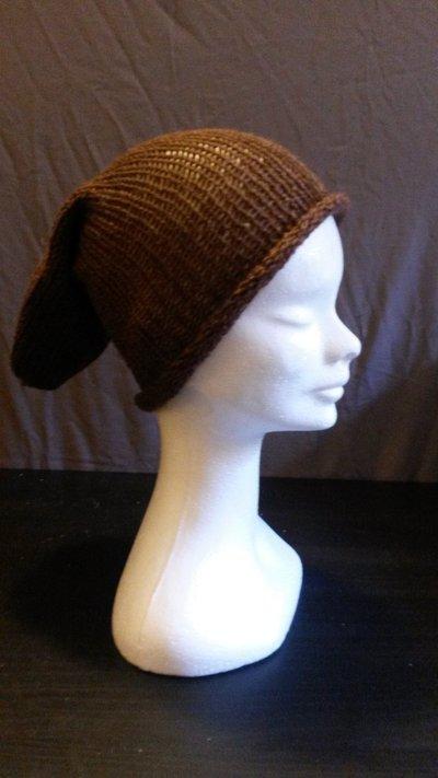 Cappello in lana marrone