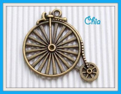 1 maxi charm antica bicicletta