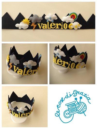 Corona personalizzata per bimbi ed adulti