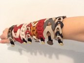 Grande Affare!Stock di 12 collane e 8 bracciali realizzati in vera pelle!
