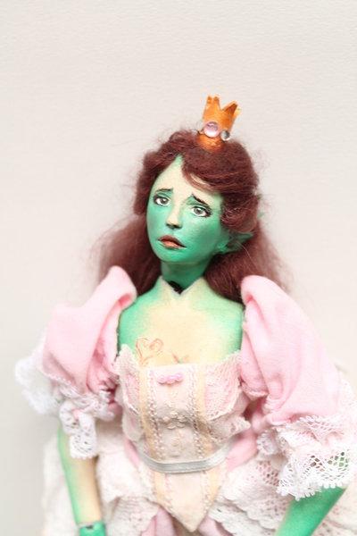 Bambola articolata BJD Princess Frog