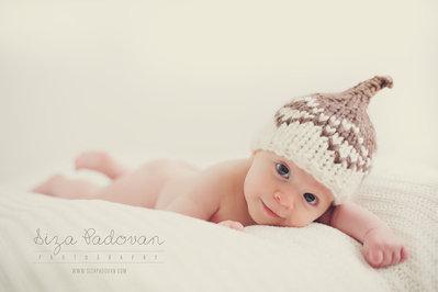 Cappellino neonato Lana Biologica fatto a mano Abbigliamento Bambino Accessori neonato Piccolo elfo Lana Biologica