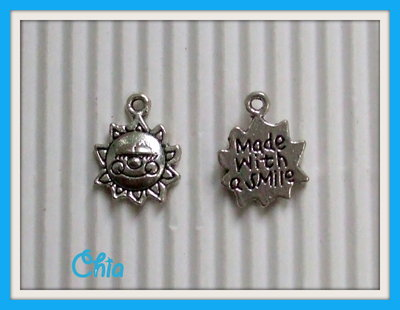 "10 charms sole ""made with a smile"""
