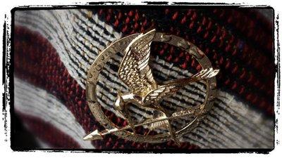 Spilla ghiandaia imitatrice Hunger Games_Uomo Donna_idea regalo