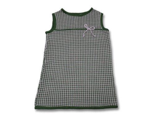 abito vestito maglia lana bimba