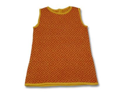 vestito abito bimba lana maglia