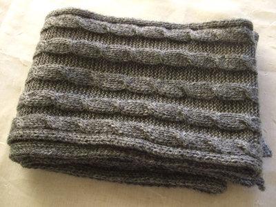 sciarpa bimbo lana maglia