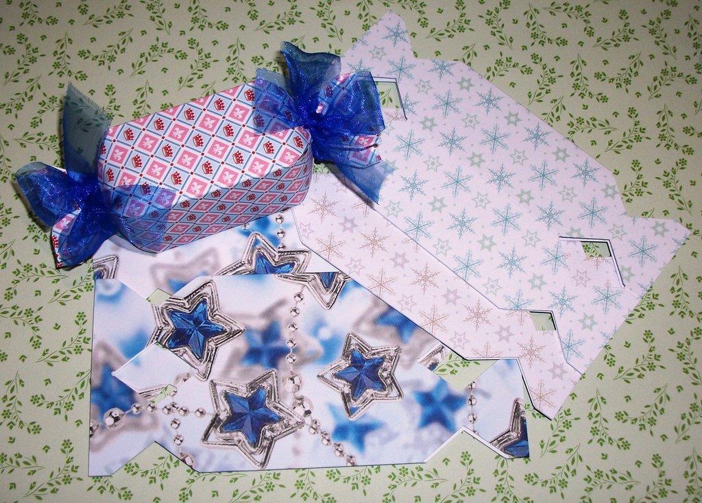 Scatoline decorate per Regali di Natale - Caramelle2^^ - Scrapbooking&Packaging - Lotto (4pz)