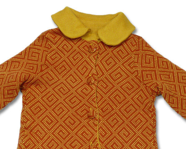 cappotto lana bimba giacca maglia