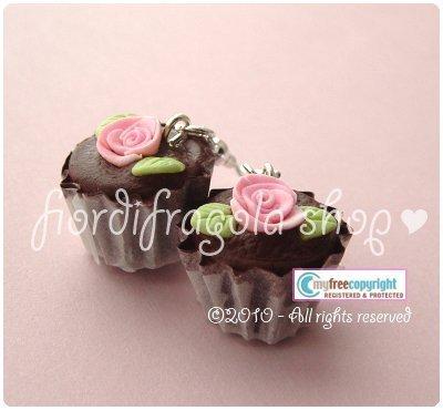 """Orecchini/Earrings """"I ♥ cupcakes"""""""