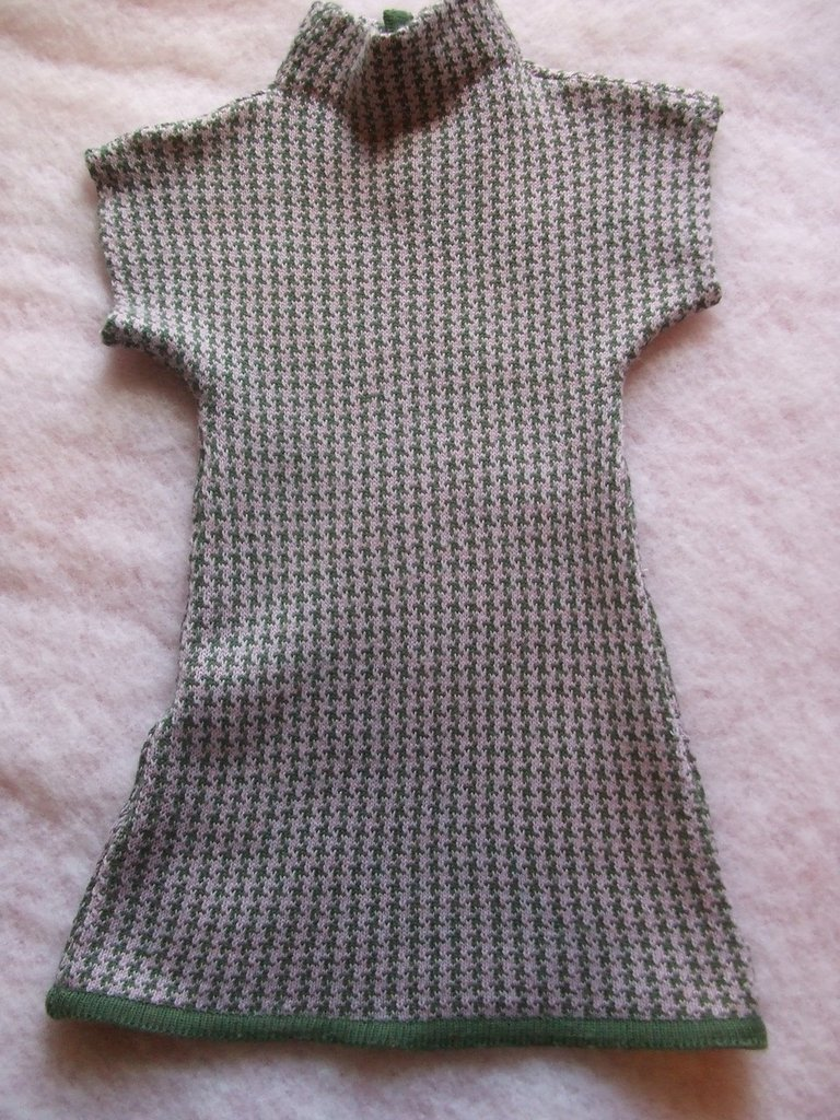vestito lana maglia bimba abito