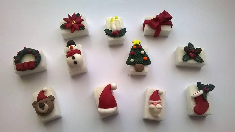 Segnaposto Natalizi Pasta Di Zucchero.Segnaposti Natalizi Idea Regalo Natale