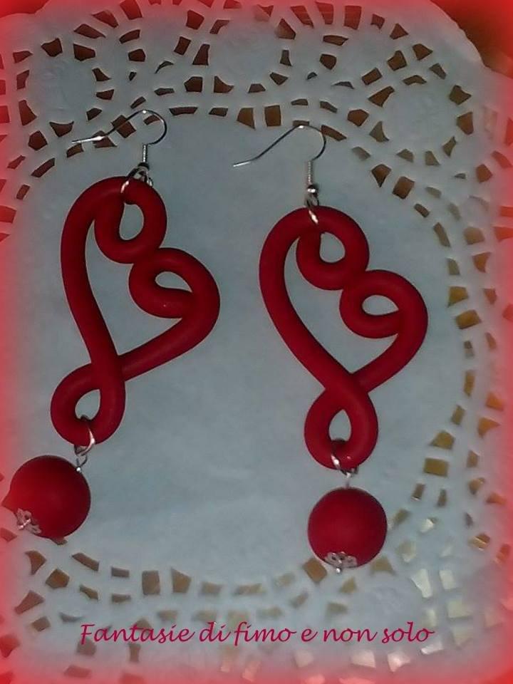 orecchini per Natale