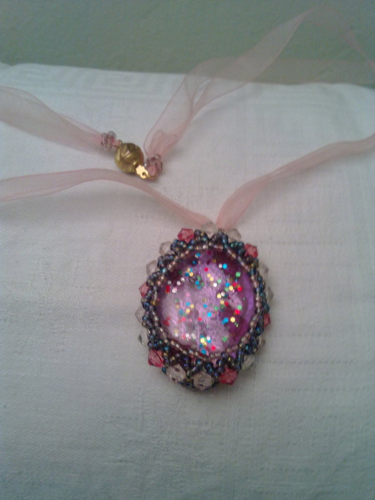 medaglione rosa