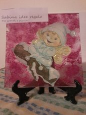 piattino decoupage piccolo