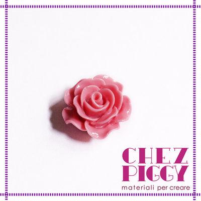 1 x cabochon - rosa